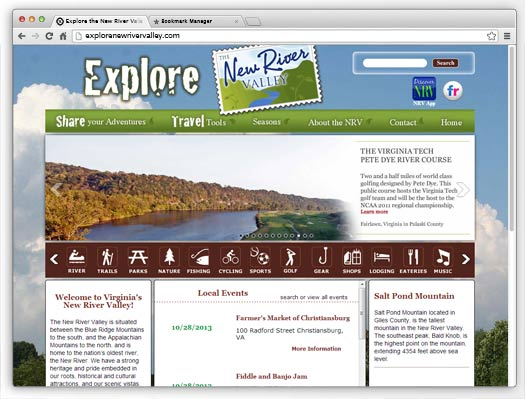 Explore The New River Valley - NRV Tourism